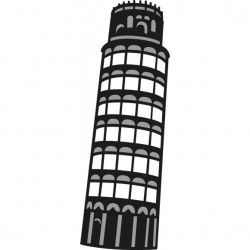 Marianne Design - Fustella - Craftables tower of pisa