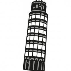 Marianne Design - Fustella - Craftables tower of pisa