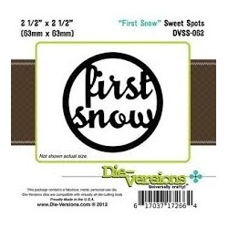 Die-Versions - Fustella - Sweet Spots First Snow