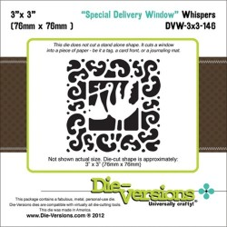 Die-Versions - Fustella - Whispers Special Delivery Window