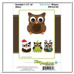 Die-Versions - Fustella - Whispers Build An Owl