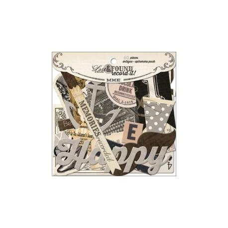 My Mind's Eye - Die Cut - Lost & Found Record It!