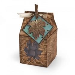 Sizzix - Fustella Bigz - Box, Mini Leaf