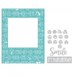 Sizzix - Fustella/Embosing Impresslits - Birthday Smiles