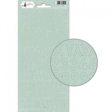 PIATEK13 - Alphabet sticker sheet - When we first met 01