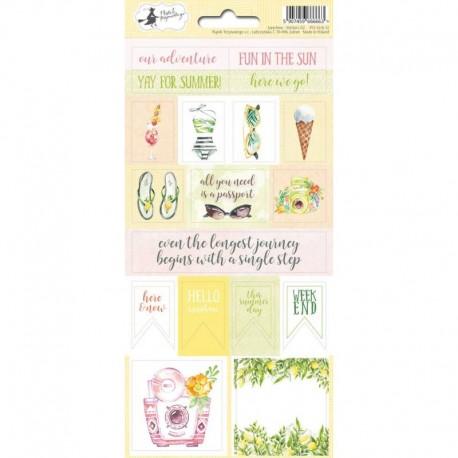 PIATEK13 - Sticker sheet - Sunshine 02