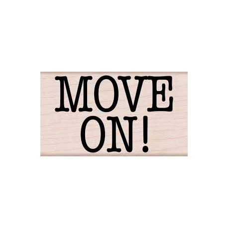 Hero Arts - Timbro legno - Move On