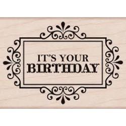 Hero Arts - Timbro legno - It's Your Birthday