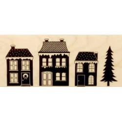 Hero Arts - Timbro legno - Winter Village