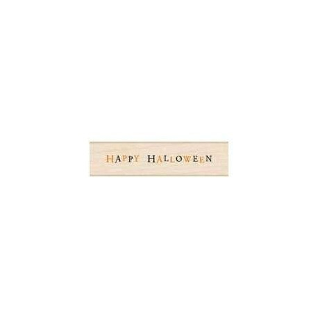 Hero Arts - Timbro legno - Halloween Message