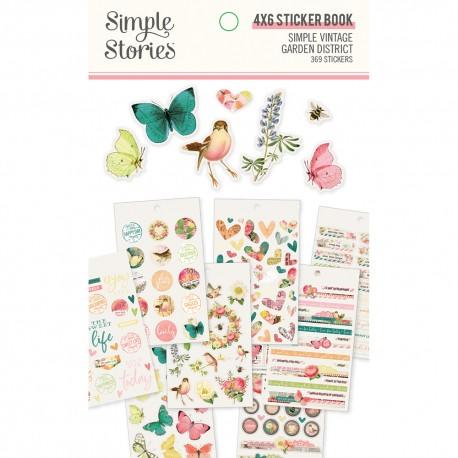 Simple Stories - Stickers - Simple Vintage Garden District