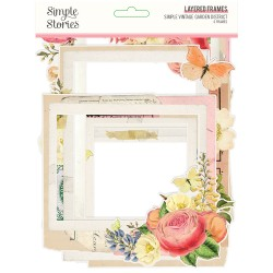 Simple Stories - Layered Frames - Simple Vintage Garden District