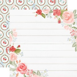 Carta Bella - Carta Farmhouse Market - Floral Corners