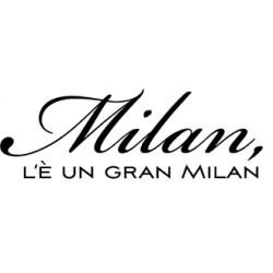Impronte d'Autore - Timbri Legno - Milan l'è un gran Milan