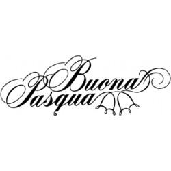 Impronte d'Autore - Timbri Legno - buona pasqua