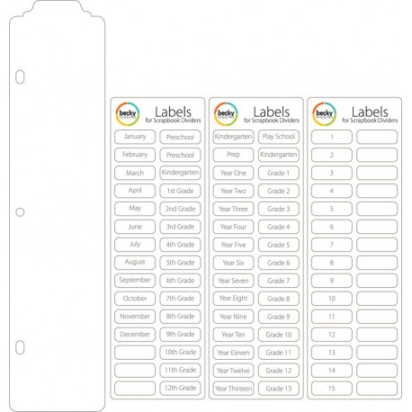 Page protector - Divisori trasparenti