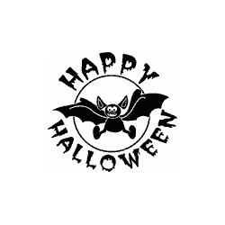 Impronte d'Autore - Timbri Legno - Happy Halloween