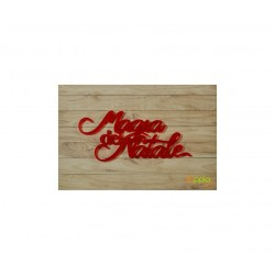 Yuppla - Abbellimenti in acrilico - Magia Del Natale - Rosso