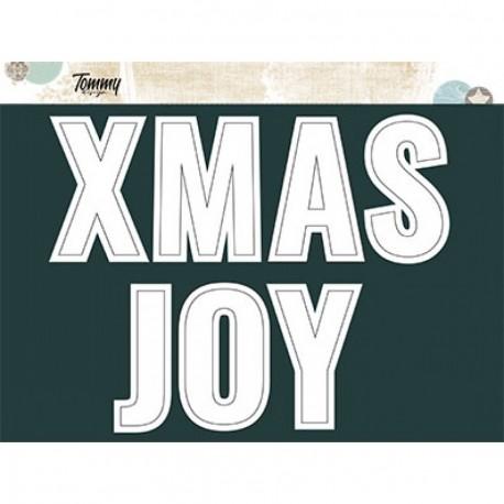 Tommy Design - Scritte in Cornice - XMAS Joy