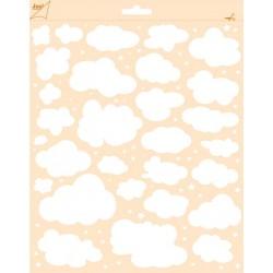 Joy Craft - Stencil - Wolken