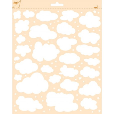 Joy Craft - Stencil - Wolken