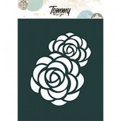 Tommy Design - Stencil - Peonia A6
