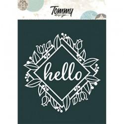 Tommy Design - Le Maschere - Quadrato Hello
