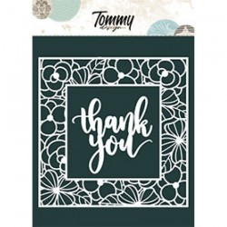 Tommy Design - Le Maschere - Thank You Cornici di Fiori
