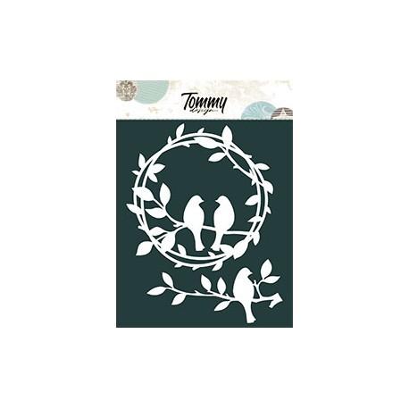 Tommy Design - Le Maschere - Ghirlanda Uccelli