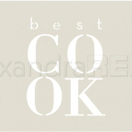 Alexandra Renke - Stencil - Best Cook