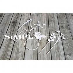 Simply Graphic - Fustella - Bouquet Printanier