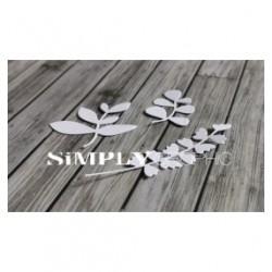 Simply Graphic - Fustella - Trio Petites Feuilles