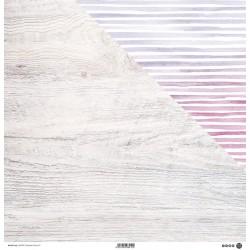 """ModaScrap - Carta 12x12"""" - Wooden Colors 01"""