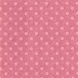 Cartoncino bazzill dots - Romantic mauve