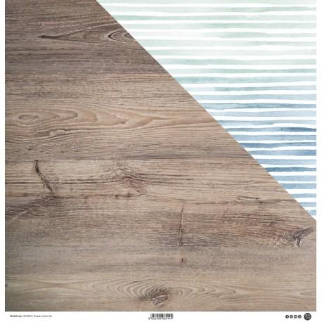 """ModaScrap - Carta 12x12"""" - Wooden Colors 03"""