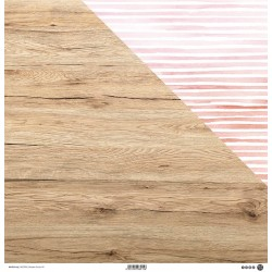 "ModaScrap - Carta 12x12"" - Wooden Colors 04"