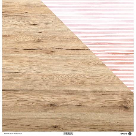 """ModaScrap - Carta 12x12"""" - Wooden Colors 04"""