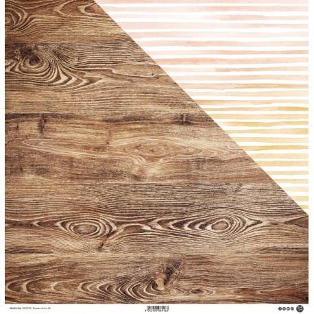 """ModaScrap - Carta 12x12"""" - Wooden Colors 05"""