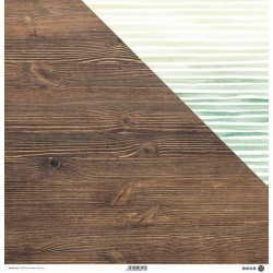 "ModaScrap - Carta 12x12"" - Wooden Colors 06"