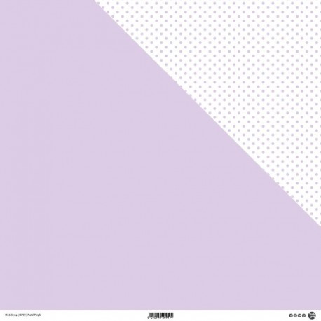 "ModaScrap - Carta 12""x 12"" - Pastel Purple"