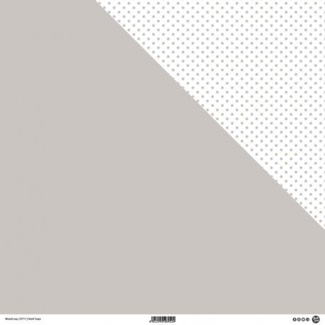 "ModaScrap - Carta 12""x 12"" - Pastel Taupe"
