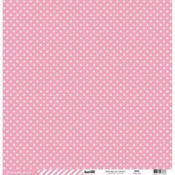 Kesi'Art - Cartoncino étoile cardstock - ROSE
