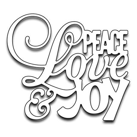 Penny Black - Fustella - Peace Love and Joy