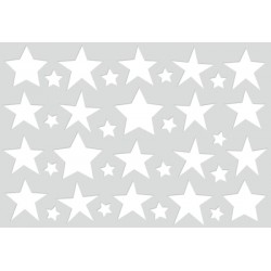 KaiserCraft - Fustella - Stars Cardfront