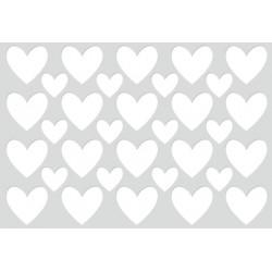 KaiserCraft - Fustella - Hearts Cardfront