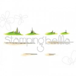 Stamping Bella - Timbri Cling - Grass an Grounds