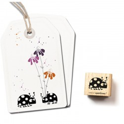 Cats on appletrees - Timbro Legno - Bug Lise 2566