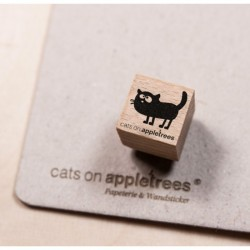 Cats on appletrees - Timbro Legno - Mini Frida 2852