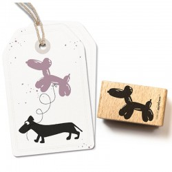 Cats on appletrees - Timbro Legno - balloon dog 27268