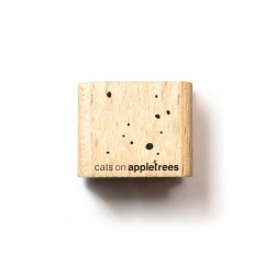 Cats on appletrees - Timbro Legno - Mini confetti 27283